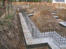 Строительство фундамента под ключ. Новодвинские строители.