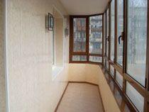 Отделка балкона в Новодвинске. Отделка лоджии
