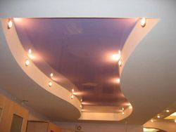 Ремонт и отделка потолков в Новодвинске. Натяжные потолки, пластиковые потолки, навесные потолки, потолки из гипсокартона монтаж