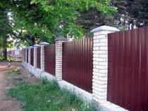Строительство заборов, ограждений в Новодвинске